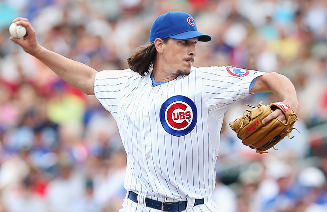 Cubs ace Jeff Samardzija's fantasy value could soar if he's traded to a contender during the season.