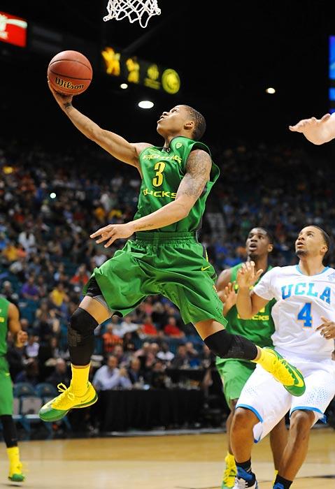 Leading Scorer: Joseph Young (18.6 ppg., pictured) Leading Rebounder: Mike Moser (8.0 rpg.) Leading Passer: Johnathan Lloyd (4.7 apg.) Bad Losses: Oregon State, Washington Good Wins: BYU, Arizona, UCLA