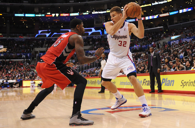 All-Star forward Blake Griffin can score in a variety of ways with his versatile offensive game.