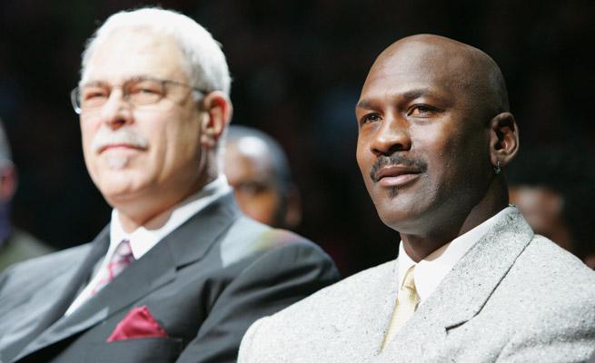 Michael Jordan won six titles as a player under Phil Jackson, but has struggled as an executive.