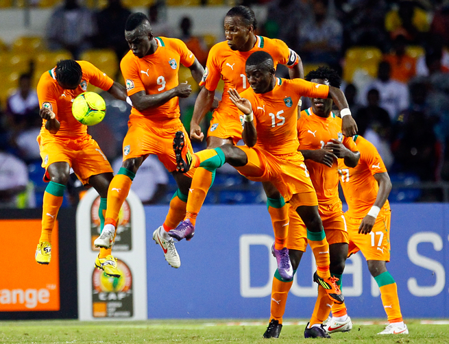 The Ivory Coast has a large immigrant population in the Bronx and Harlem, where fans root for Les Elephants at places like New Ivoire on 119th St.