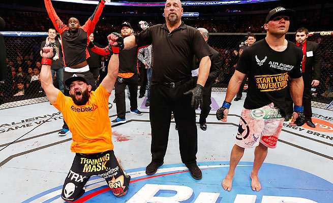 Now that Johny Hendricks is the welterweight champ, who should get the first shot at toppling him?