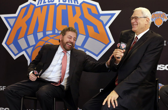 James Dolan and Phil Jackson got along swimmingly Tuesday, but will the power partnership work?