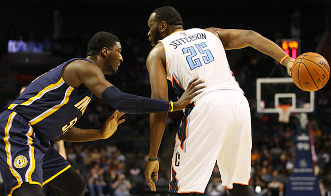 A polished post scorer, center Al Jefferson is averaging 21.3 points on 50.5 percent shooting.