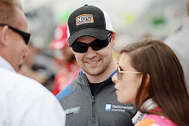 Ricky Stenhouse Jr. is trying to emerge from the shadow of his more famous girlfriend, Danica Patrick.