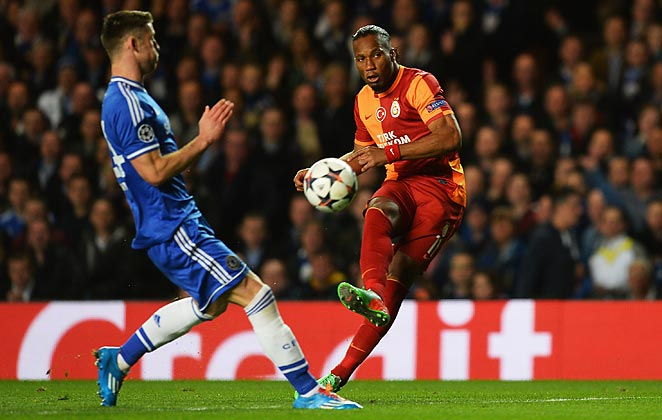 Didier Drogba couldn't find a way to break through against Chelsea in his return to Stamford Bridge.