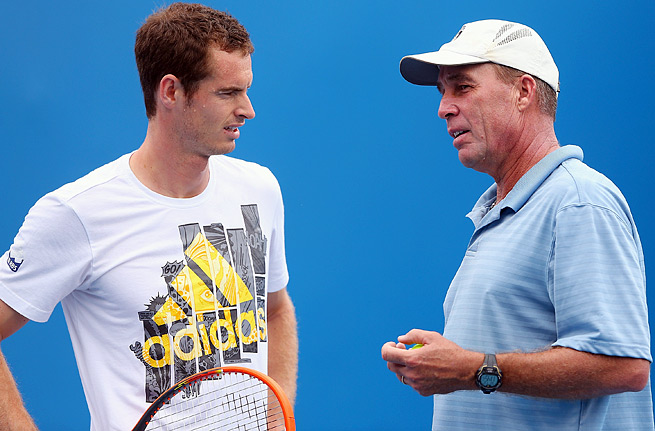 Andy Murray (left) won two Grand Slam titles and an Olympic gold medal under Ivan Lendl.