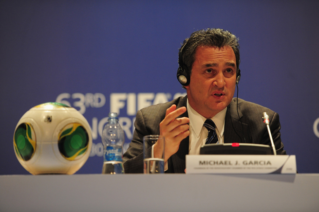 Ethics prosecutor Michael Garcia has FIFA and Sepp Blatter in his sights regarding the bids to host the 2018 and 2022 World Cup.