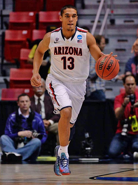 Nick Johnson paced Arizona with a team-high 16 points.