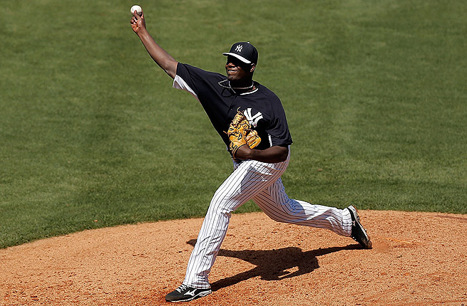 Michael Pineda hasn't pitched in the big leagues since suffering an anterior labral tear in 2012.