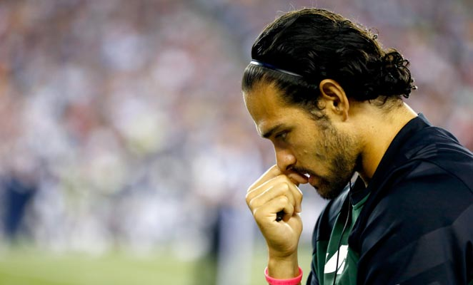 Mark Sanchez disappointed with his performances throughout his five seasons with the New York Jets.