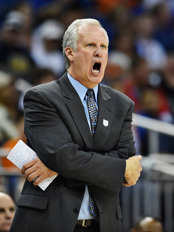 Saint Louis coach Jim Crews saw his team commit 18 turnovers and shoot 39.6% from the field.