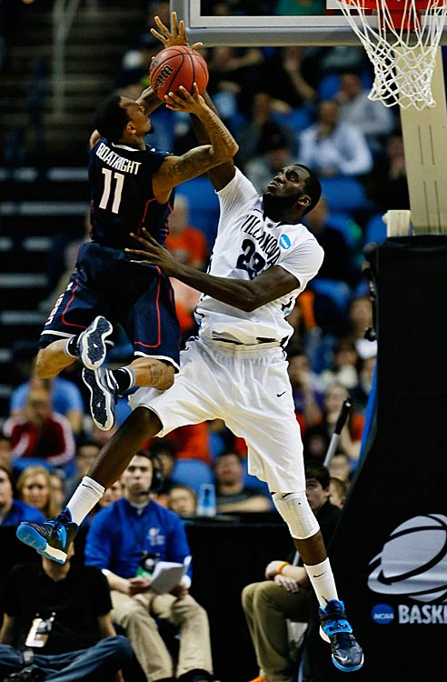 Boatright scored 11 points to support the team-high 25 poured in by Shabazz Napier.
