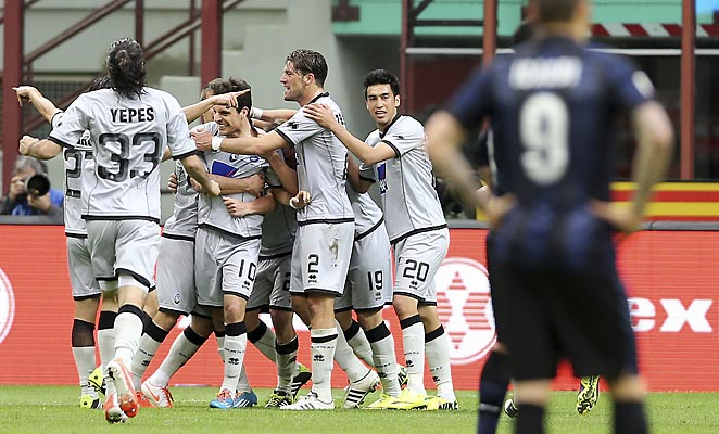 Atalanta's last-second strike denied Inter Milan the chance at a home victory on Sunday.