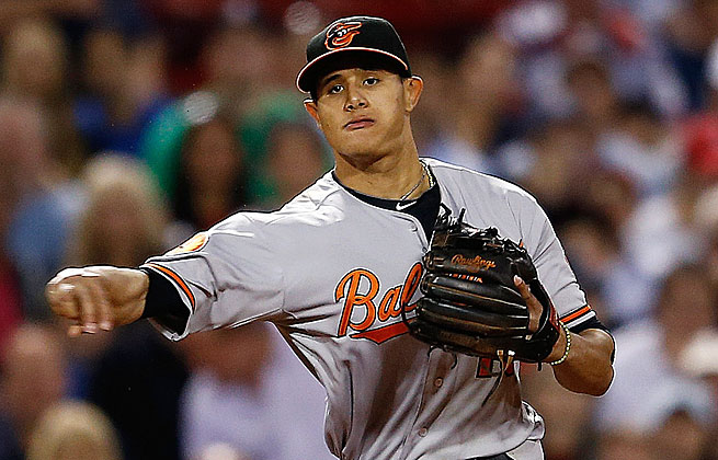 Manny Machado will start the 2014 season on the DL after seeing last year end with knee surgery.