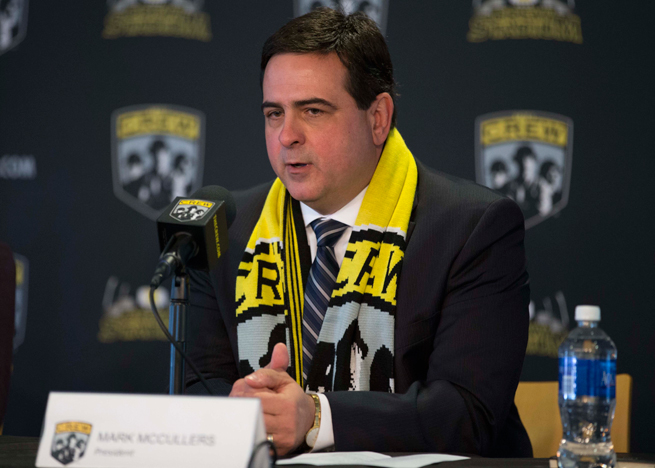 Columbus Crew president Mark McCullers is departing after 15 years with the club.