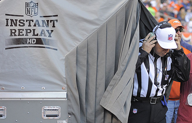 Officials will be able to consult with the league office starting this season on instant replay calls.