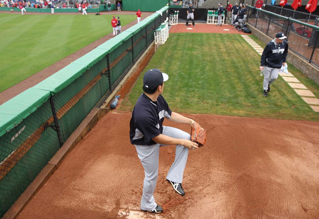 Adjusting to a new pitching routine will be one of Masahiro Tanaka's many challenges in the U.S.
