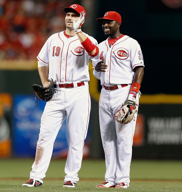 <underline>Highest salaries</underline>: Joey Votto $12,000,000 Brandon Phillips $11,083,333