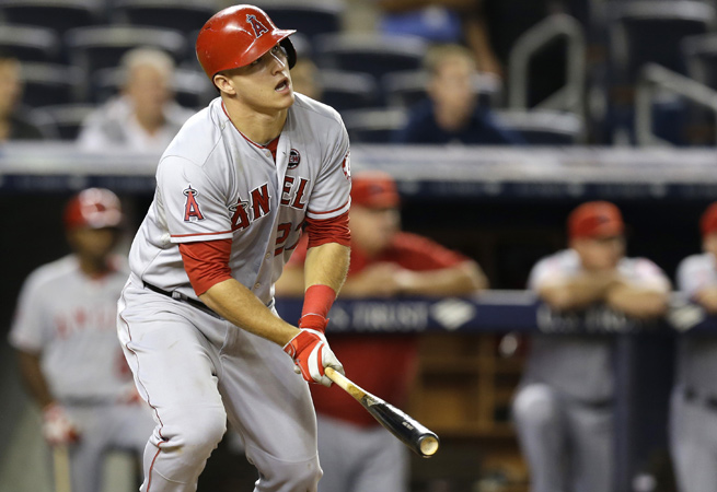 Will Mike Trout be able to end Miguel Cabrera's two-year reign as AL MVP, or will he fall short again?