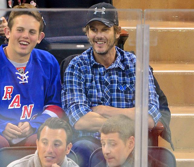 New York Rangers vs. Philadelphia Flyers March 26, 2014 at Madison Square Garden in New York
