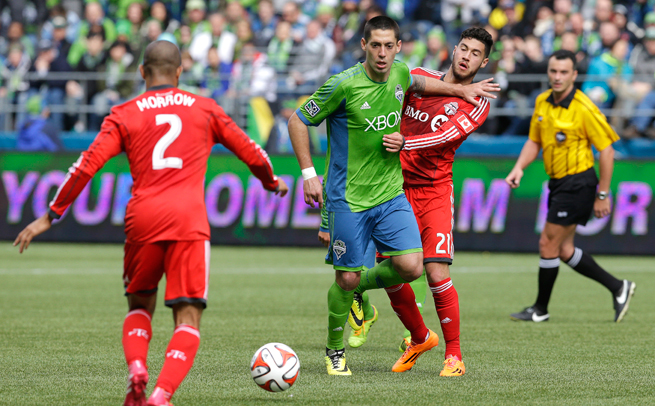 Seattle Sounders star Clint Dempsey was disappointed to receive a two-game ban for his incident against Toronto FC.