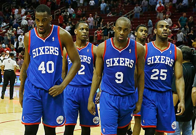 The Philadelphia 76ers tied the NBA record for most consecutive losses on March 27, 2014, but avoided sinking to a new low when they defeated Detroit two nights later.