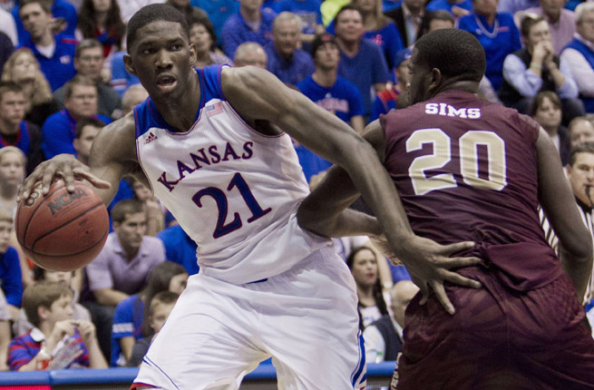 Joel Embiid will reportedly enter the 2014 NBA draft and will likely be one of the top players selected.