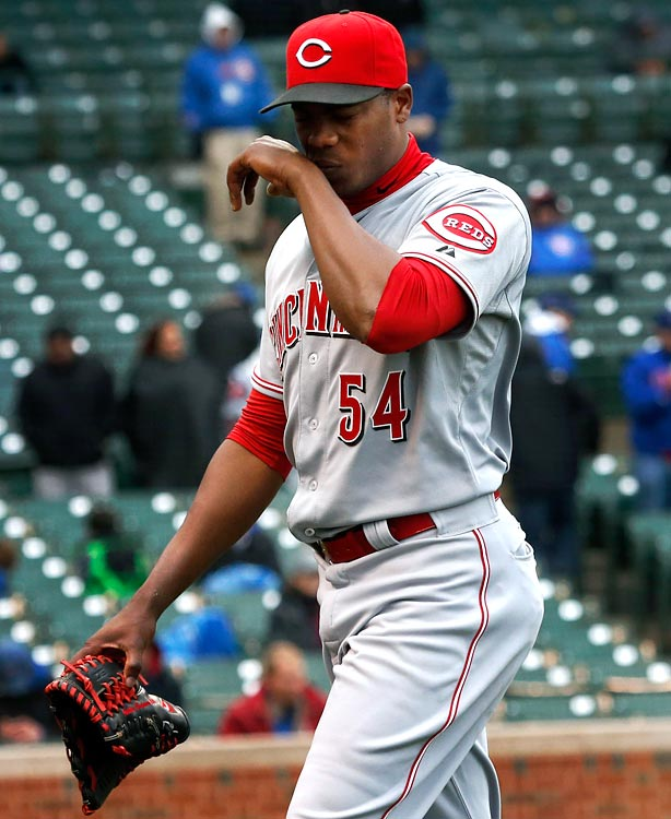 The team lost a lot of offense with Shin-Soo Choo going to Texas and did little to replace it. Aroldis Chapman's injury weakens a shaky bullpen, and the Reds can't count on ace Johnny Cueto thanks to durability concerns. Joey Votto remains the league's most underrated hitter, but even his otherworldly offense won't be enough for Cincinnati.