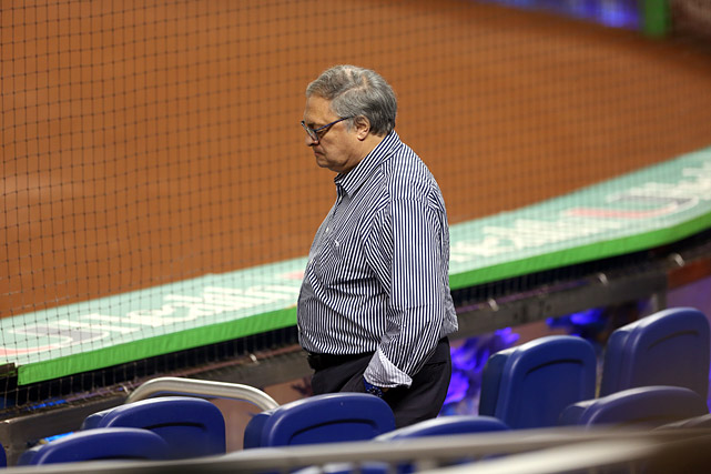 Remember the last time the Marlins tried to build a World Series contender? Jeffrey Loria's dreams of buying a trophy were burst by mid-May, followed by the expected roster teardown. This iteration of the Marlins is full of impressive young talent but short on experience and depth, and the offense remains a big work in progress. At least that'll save Loria the money on confetti and parade floats.