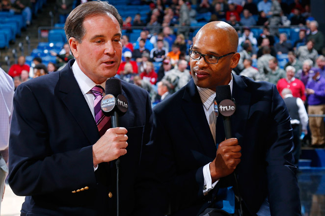 CBS moved Clark Kellogg off the No. 1 college basketball team, where he was the analyst alongside Jim Nantz since 2008, for a studio role.