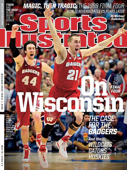 Kentucky and Wisconsin, winners of the Midwest and West regionals, respectively, each earned a cover of Sports Illustrated this week. In the Final Four previews, our writers make a case for each of the Final Four teams ? and take you inside Kentucky's incredible run to Dallas.