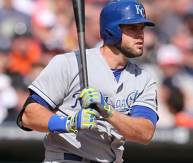 Former first-round pick Mike Moustakas has disappointed so far in his major league career.