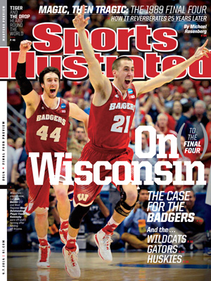Kaminsky and teammate Josh Gasser appear on the cover of SI this week.