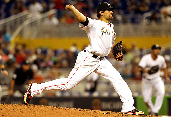 Nathan Eovaldi pitched six innings against the Rockies, giving up six hits and two runs.