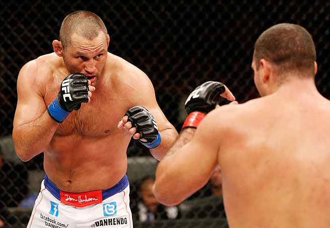 Light heavyweight Dan Henderson (left) has lost three of his last four fights, but his UFC ranking makes him an enticing opponent for Daniel Cormier.