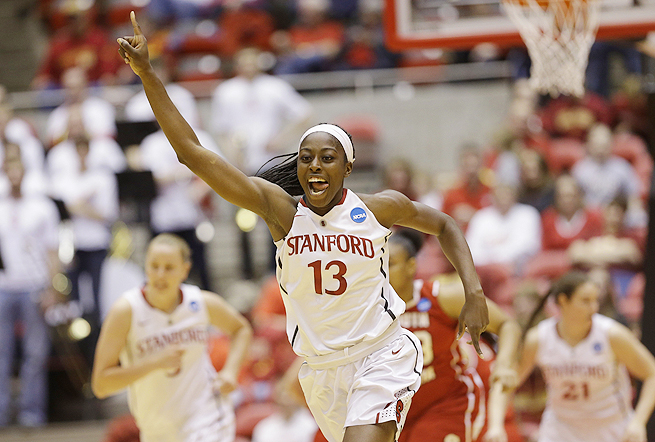 Star forward Chiney Ogwumike leads Stanford against the prohibitive favorite Connecticut.