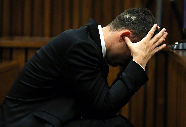 Oscar Pistorius apologized to the family of Reeva Steenkamp while on the stand in his murder trial.
