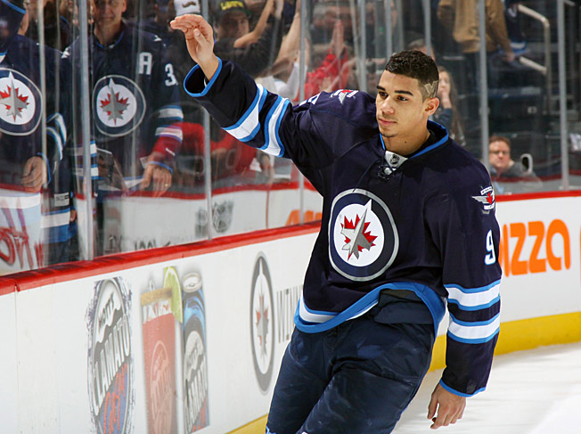 A popular Jet, Evander Kane was singled out by coach Paul Maurice who wanted to set an example.
