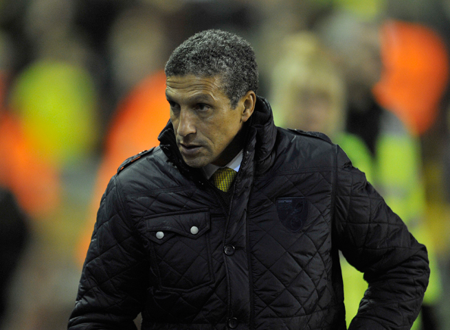 Norwich City's firing of Chris Hughton leaves English soccer without a black coach across its top five divisions.