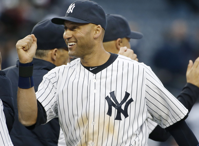 Derek Jeter got a win in his final home opener, as the Yankees downed the Orioles, 4-2, on Monday.