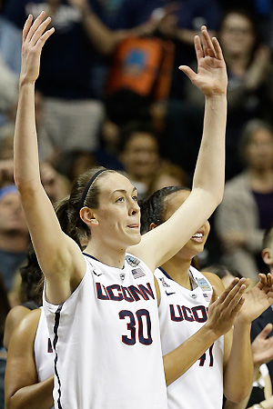 Breanna Stewart looks to add another trophy to her case after winning the AP player of the year award.