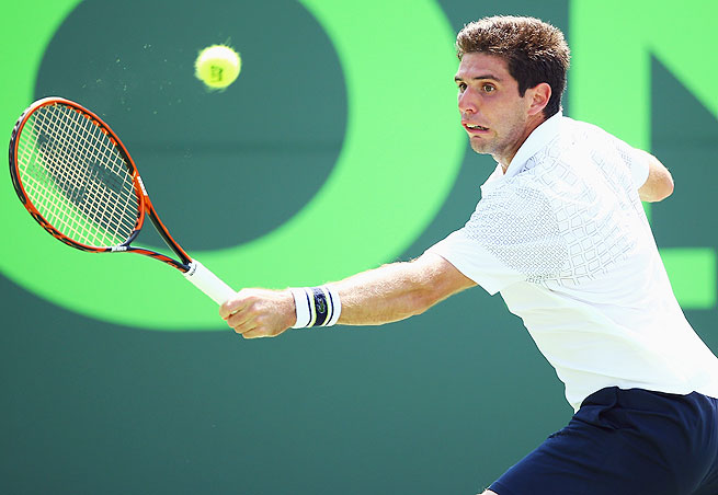 Federico Delbonis will take on another qualifier, Filip Peliwo, in the second round in Casablanca.