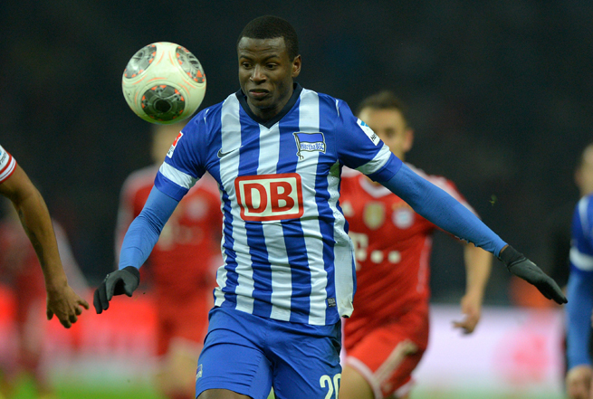Hertha Berlin forward Adrian Ramos will join Borussia Dortmund in July.
