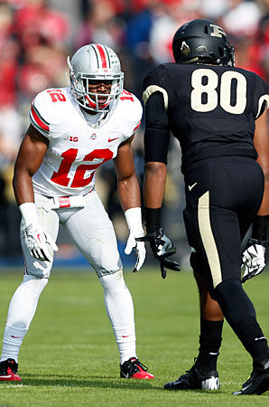 Doran Grant was part of an Ohio State defense that allowed 268 passing yards a game in '13.