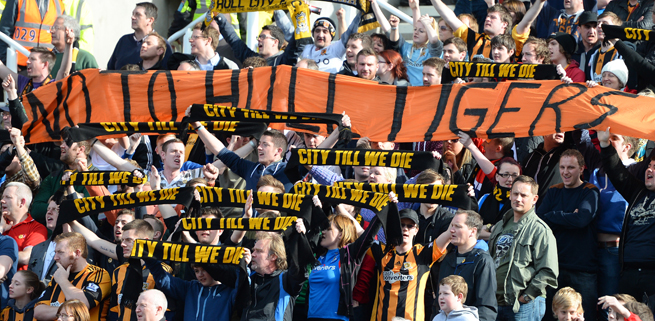 These Hull City fans will get their way -- The club had its proposed name change rejected by the FA.