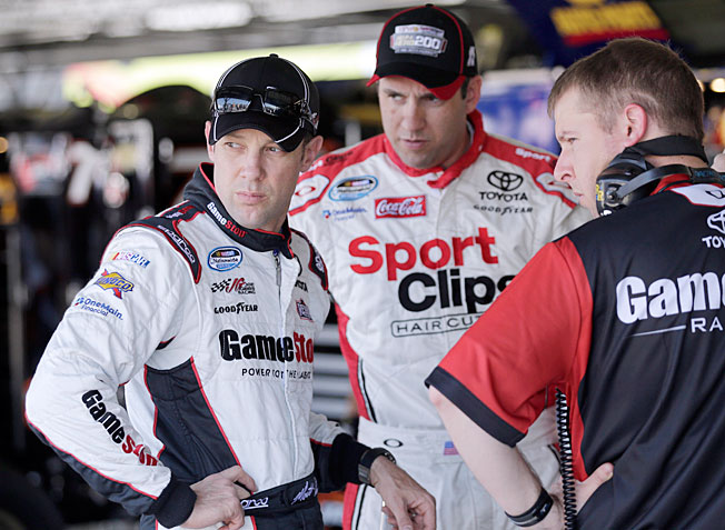 Matt Kenseth (left) is off to a slow start in NASCAR's new format but one win is all he needs.