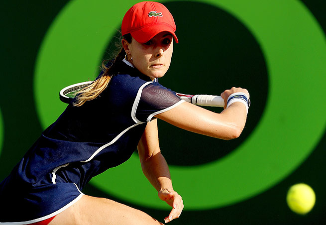 Alize Cornet won the final three games of a back-and-forth third set to secure her fourth career WTA title.