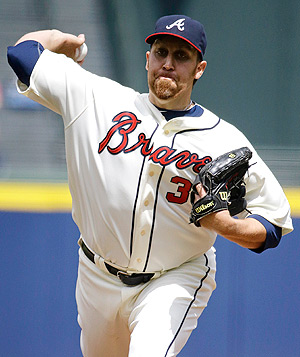 The Braves' Aaron Harang has a 0.96 ERA and 17 strikeouts through three games. Can he keep this up?