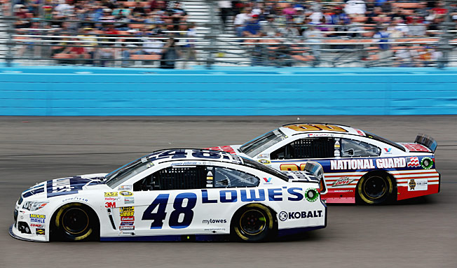 Jimmie Johnson and Dale Earnhardt Jr. are among the Hendrick drivers dominating the points.